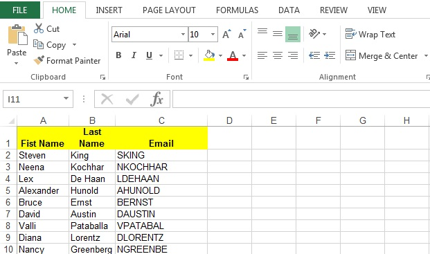How to generate Excel output using Oracle PLSQL