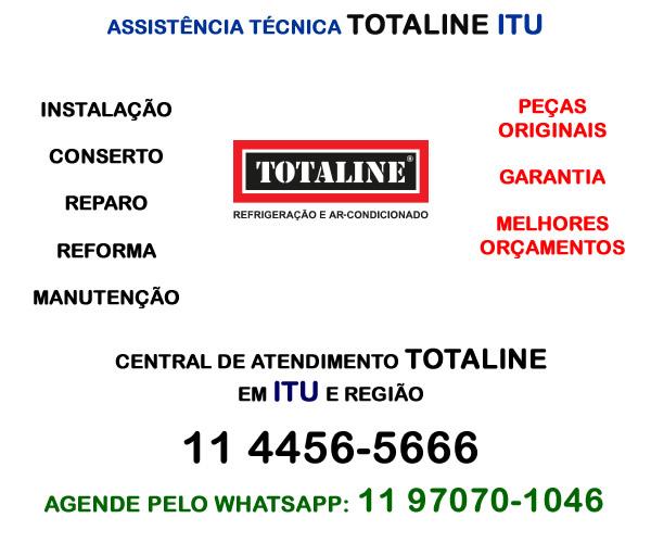 Assistência técnica Totaline Itu