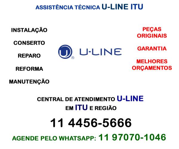 Assistência técnica U-line Itu