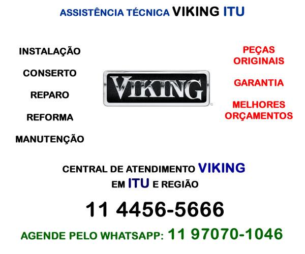 Assistência técnica Viking Itu