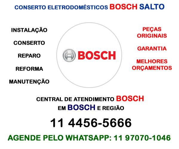 Conserto eletrodomésticos Bosch Salto