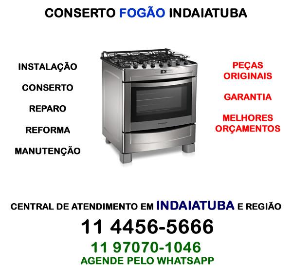 Conserto fogão Indaiatuba