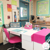 DIY Teacher Desk