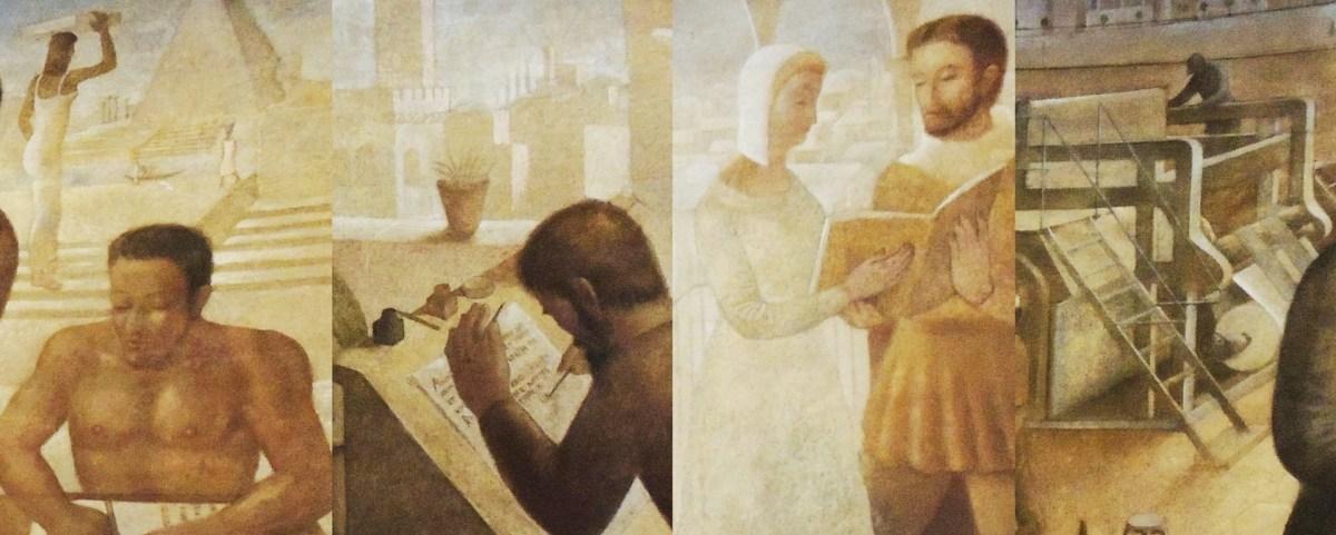"""""""A História da Imprensa"""": 1ª etapa da restauração"""