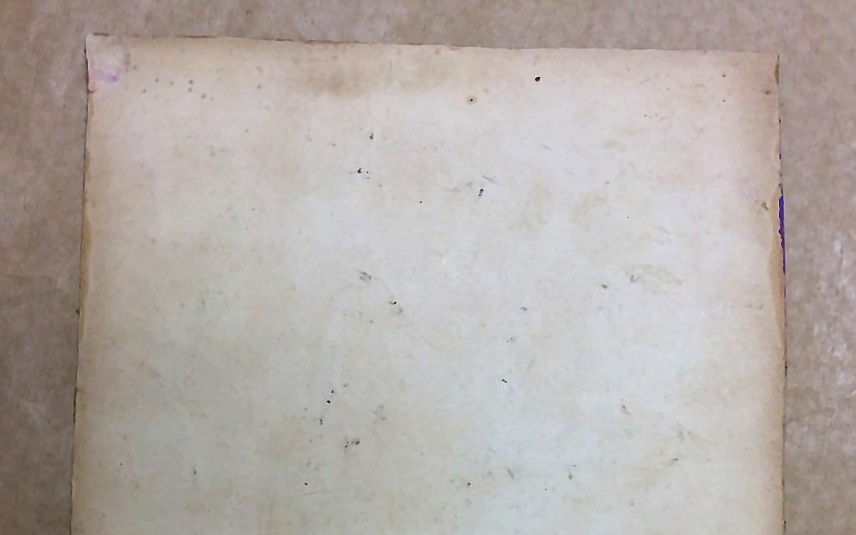 Remoção: papel cartão
