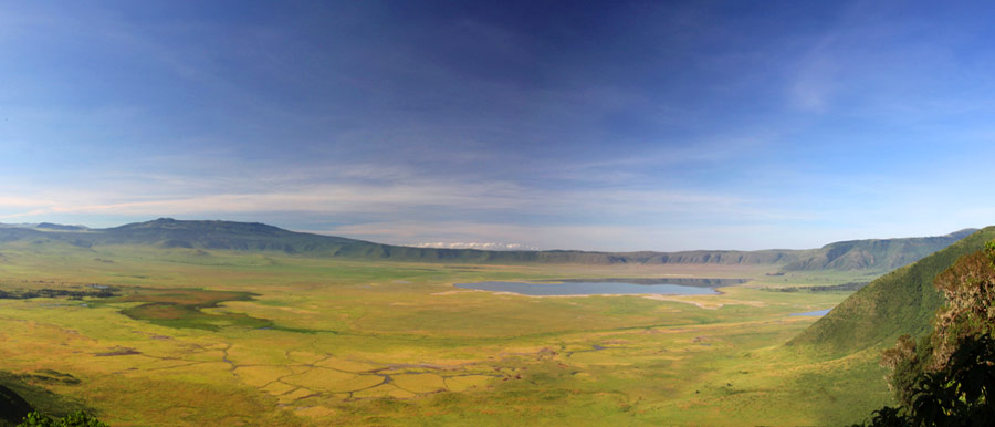A visit to the Ngorongoro Crater is a must on your Tanzania Luxury Safari