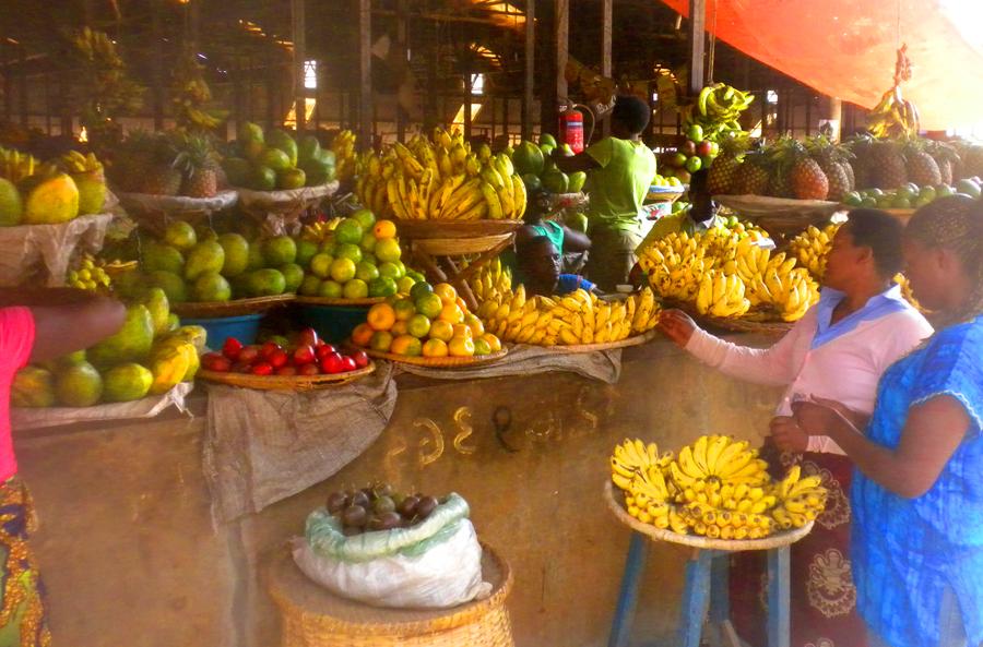 Rwanda Luxury Safari - Kigali Market