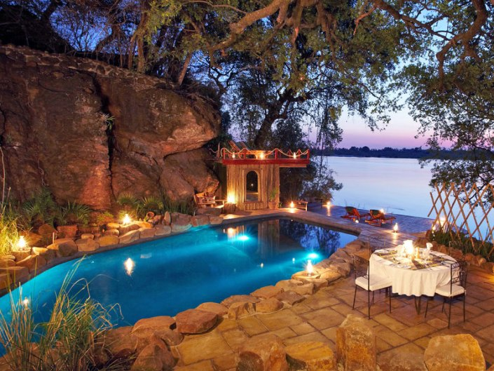 Tongabezi - Luxury lodge - Victoria Falls - Zambia - Livingstone