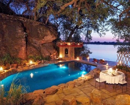 Tongabezi - Luxury lodge - Victoria Falls - Zambia - Livingstone