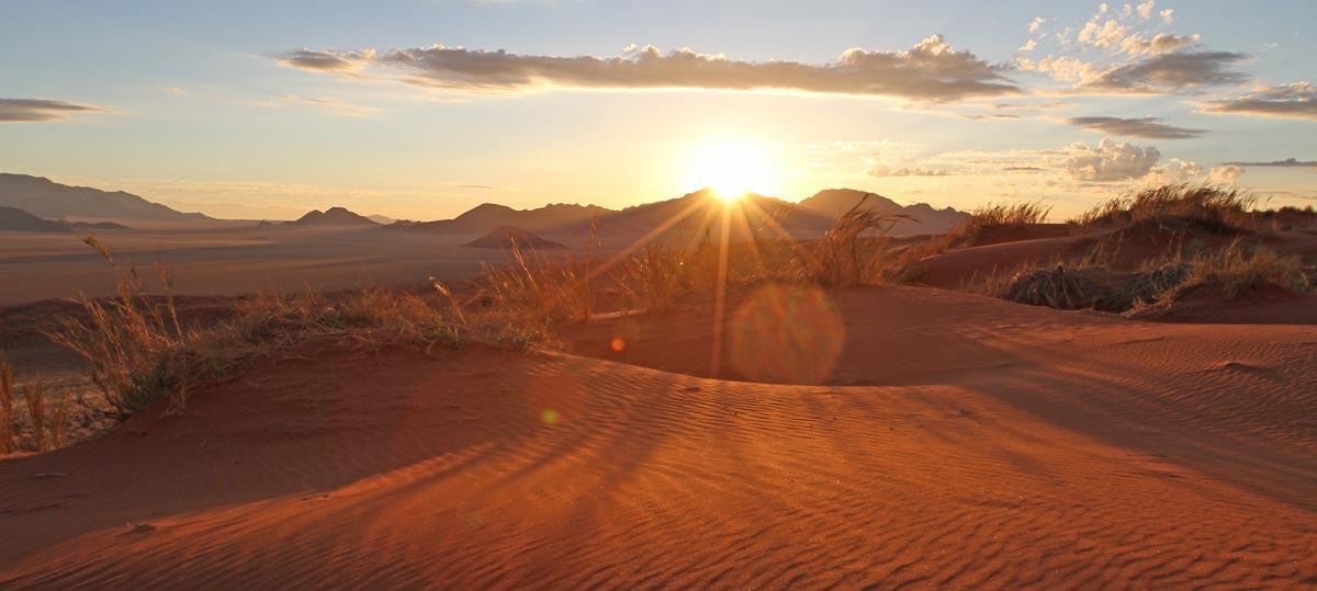 Wolwedans Desert Sunset