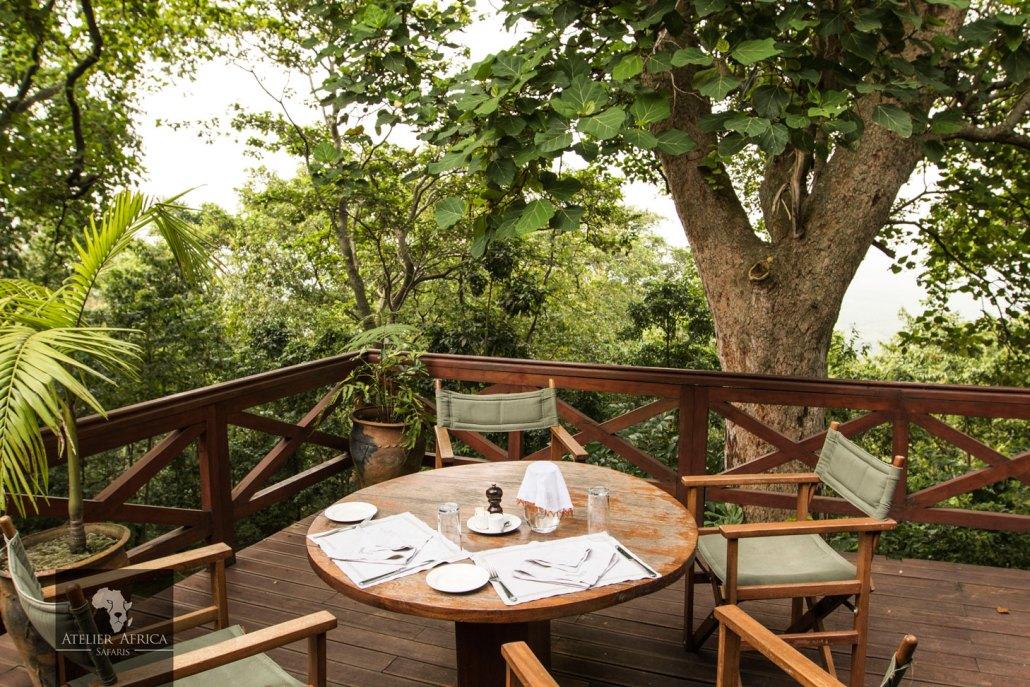Congo Safari - Mikeno Lodge Bar