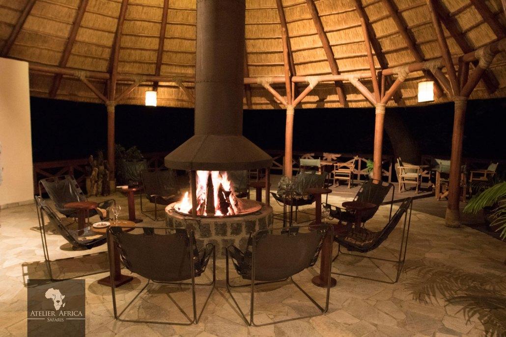 Mikeno Lodge - Congo Safari - Fire
