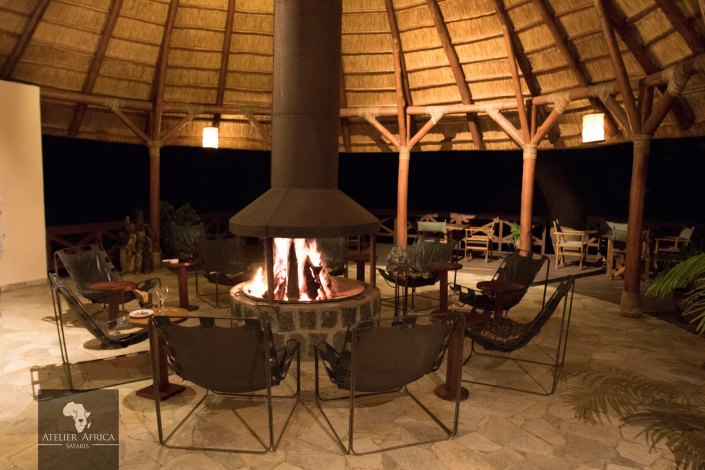 Mikeno Lodge - Congo Safari - Fire