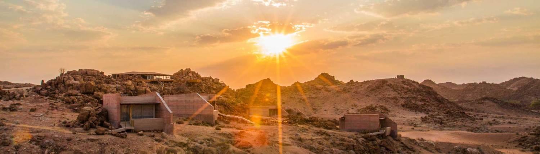 Sorris Sorris Lodge at Sunrise
