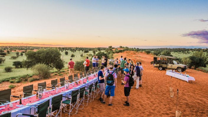 4 daagse - Incentive in Namibia Namibië voor 40 personen