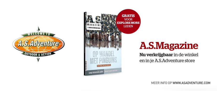 Namibië Botswana Reportage in AS Magazine van A.S. Adventure