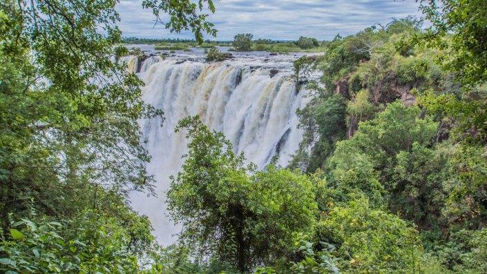 Victoria Falls - Zambia side - Rainy