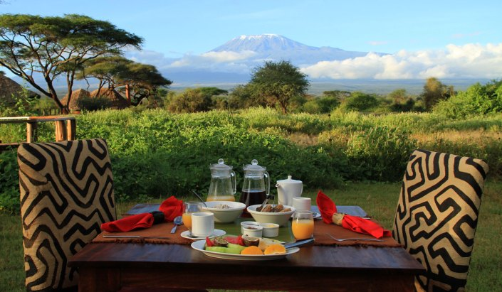 Tawi Kenya Amboseli Lodge luxury safari