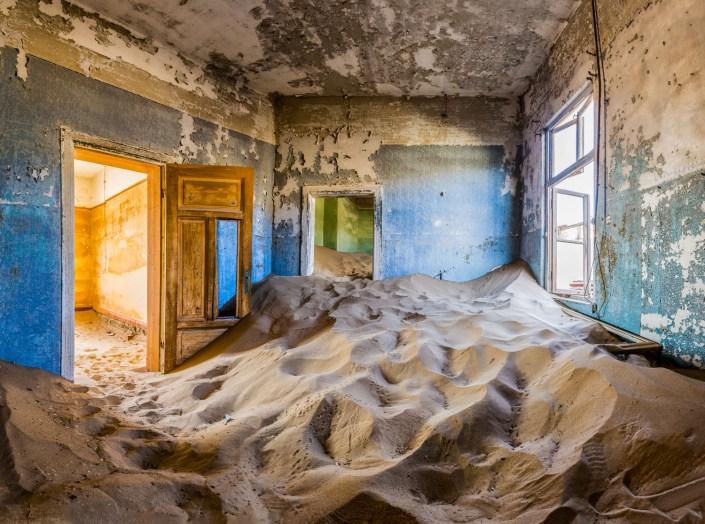 Namibia Luxury Safari Ghost town of Kolmanskop