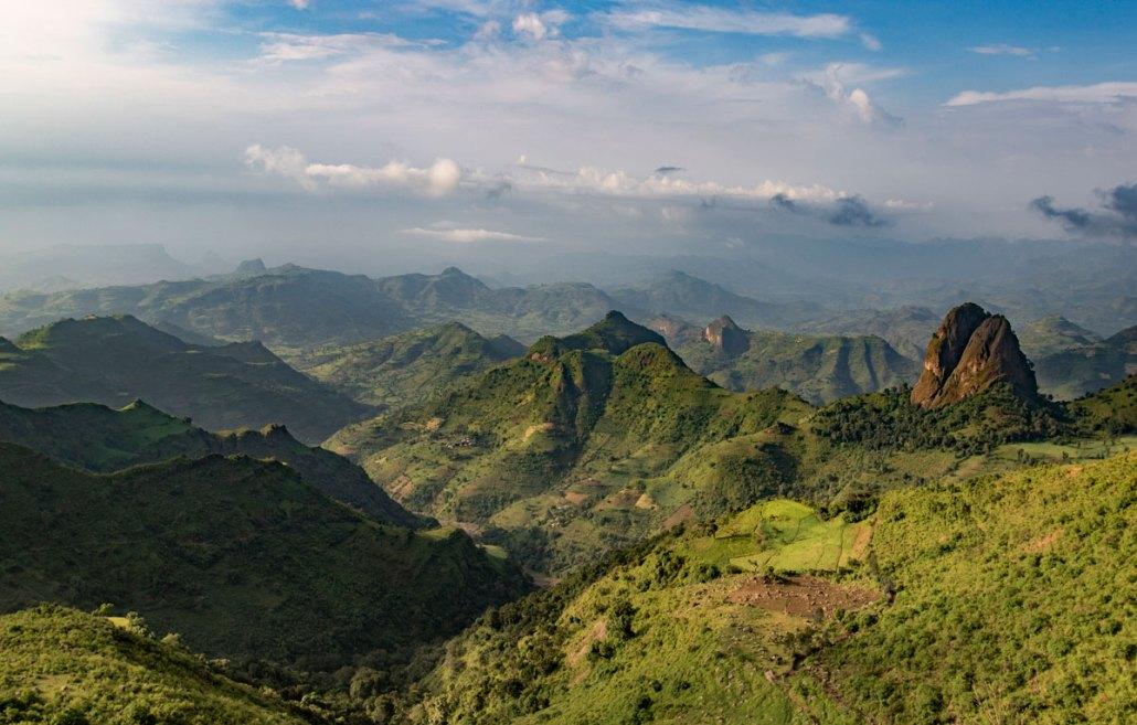 Ethiopian Simien Mountains