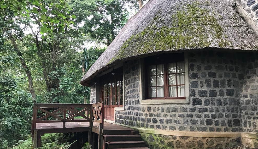 Mikeno Lodge kamer