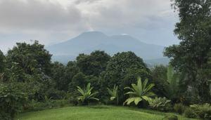 Kibumba Camp view Virunga