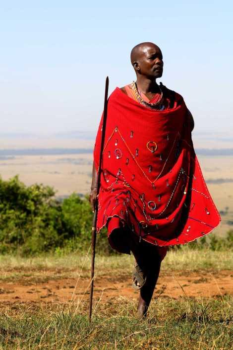 Waiting Masai