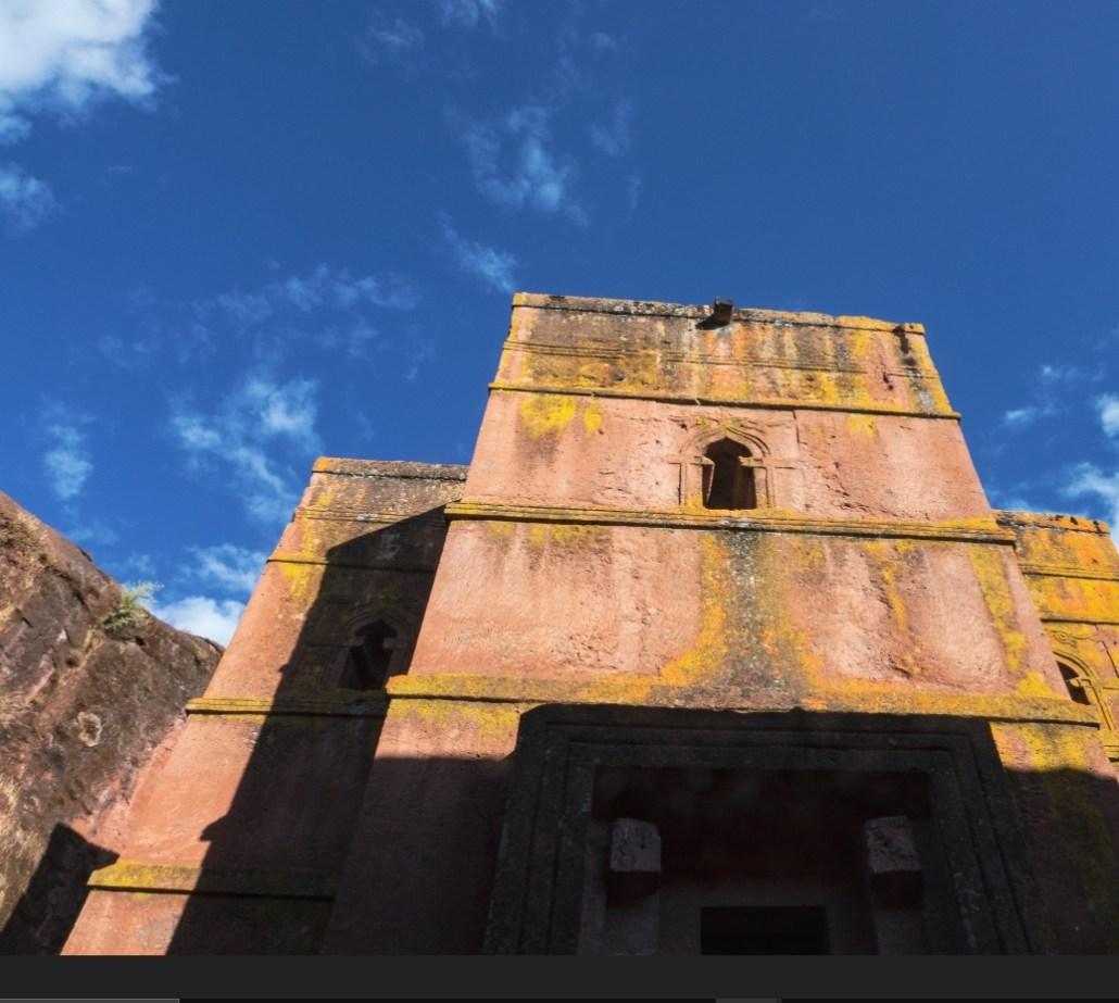 Ethiopische Kerk voorkant
