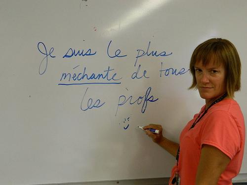 Un prof de français sur android pour conjuguer ses verbes