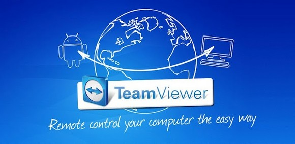 Application Teamviewer pour android