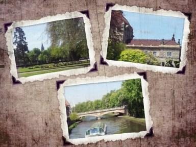 Photos de Strasbourg sous forme de cadre via PicsArt sur android
