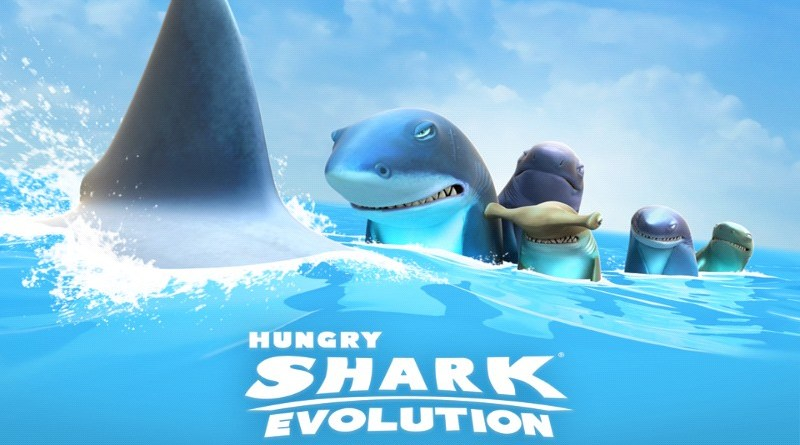 Jeu Hungry shark evolution sur android