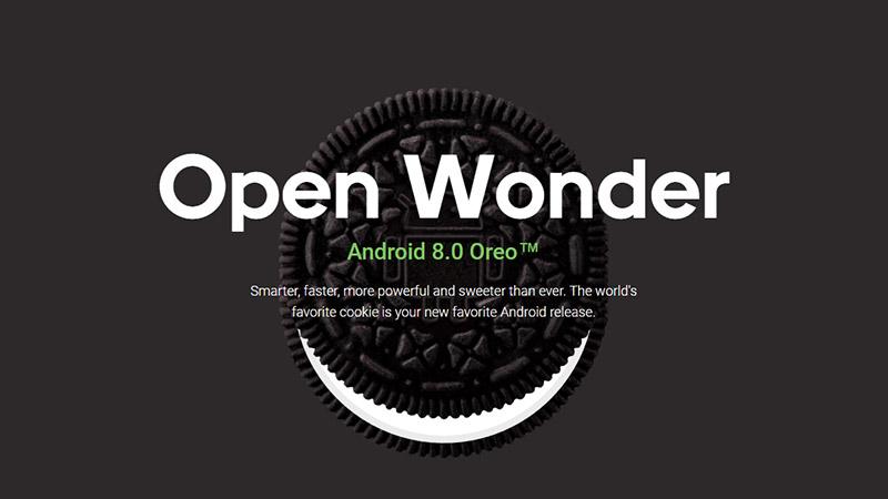 Version Oreo d'android, le système d'exploitation de Google