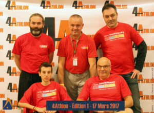 equipe bouesnard 4Athlon
