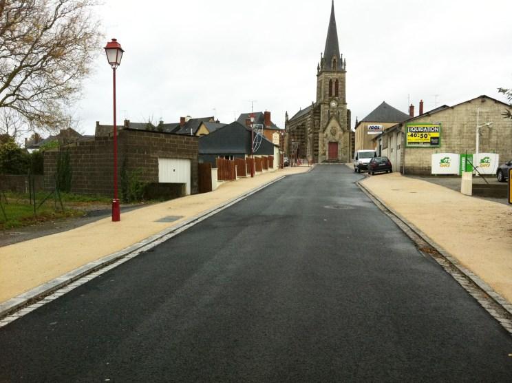 St Germain - centre bourg - Réalisation ABE