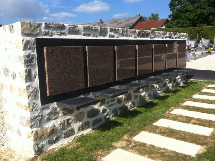 Ville de Chatillon en Vendelais - Extension cimetière - Aménagement ABE