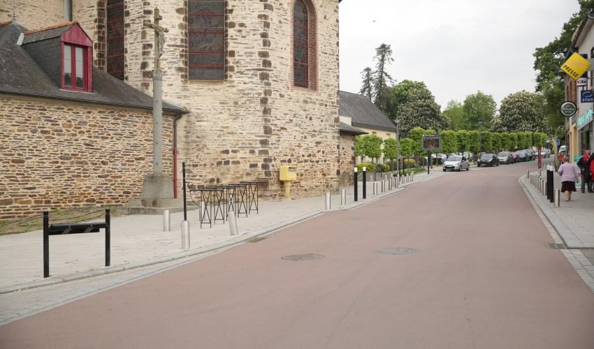 Centre bourg - Vern sur seiche - Réaménagement ABE