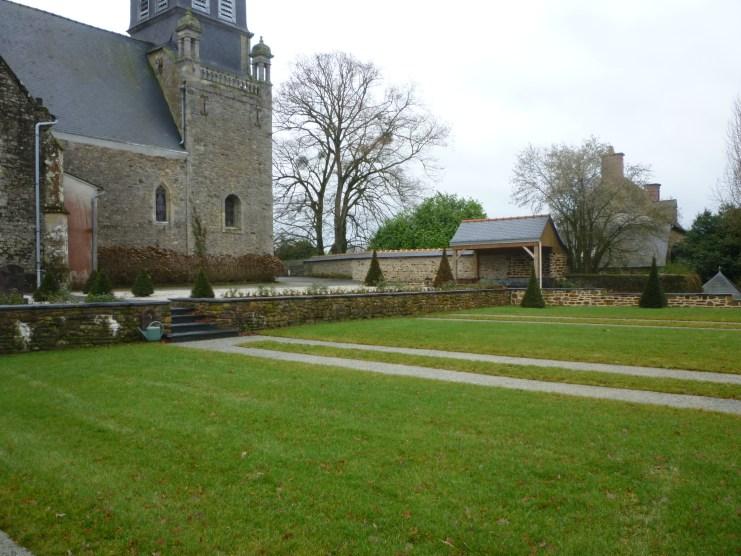 Commune de Availles sur seiche - cimetière - Réalisation ABE