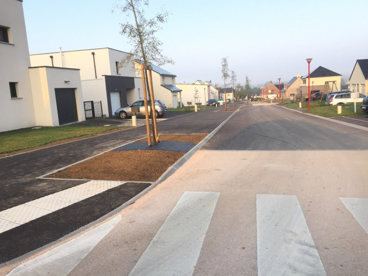 Ville de Saint-jean sur vilaine - Lotissement ZAC de la Huberderie - Réalisation ABE