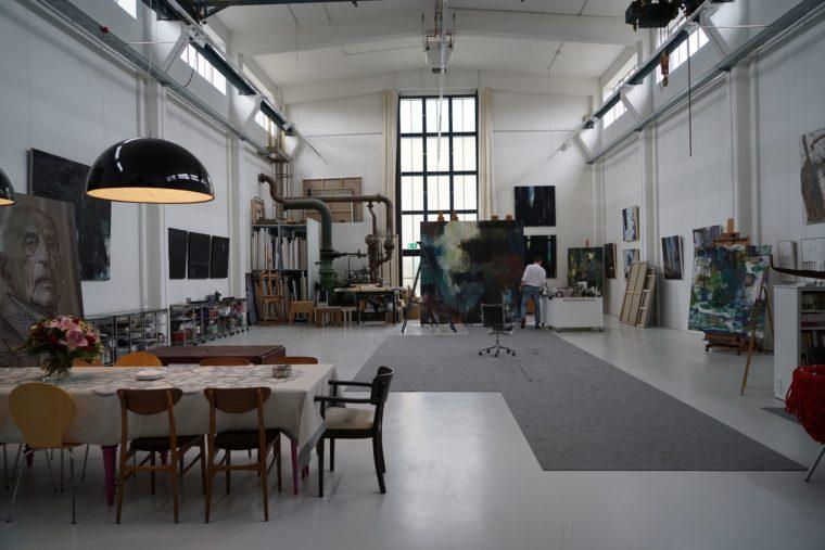 Altdorfer Maler Hans Baurle Offnet Am Wochenende Sein Atelier Kreiszeitung Boblinger Bote