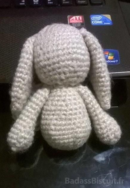 L'amigurumi lapin au crochet pour la petite Alice
