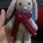 Amigurumi lapin au crochet