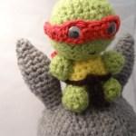 Tortue Ninja au crochet !