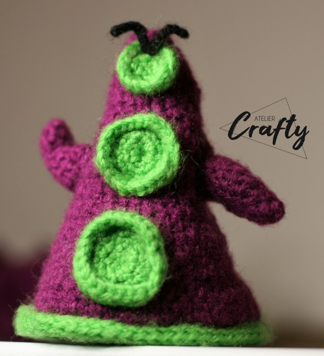 Amigurumi - Day of The Tentacle au crochet