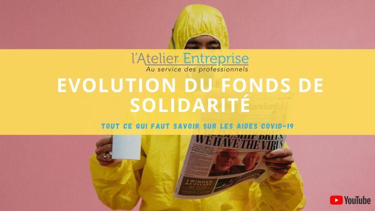 Aides Covid-19 : quelle évolution du fonds de solidarité ?