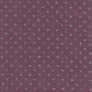 tissu-france-duval-stalla-batiste-figue-etoiles-argents