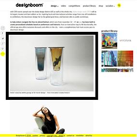 article web design boom dubaï design week