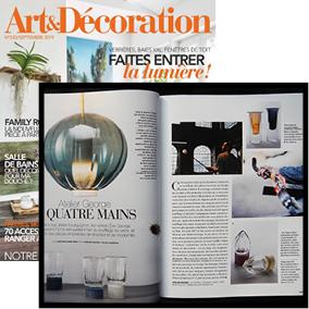 article publié par art & decoration