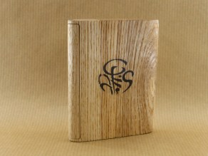 presentation of my chestnut wood cigarette case