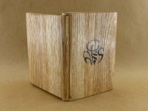external view of my chestnut wood cigarette case